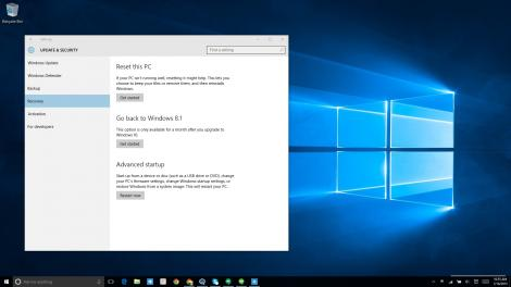 You have a month to downgrade to Windows 8.1 if Windows 10 isn't right for you