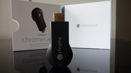 Chromecast HDMI media streaming device
