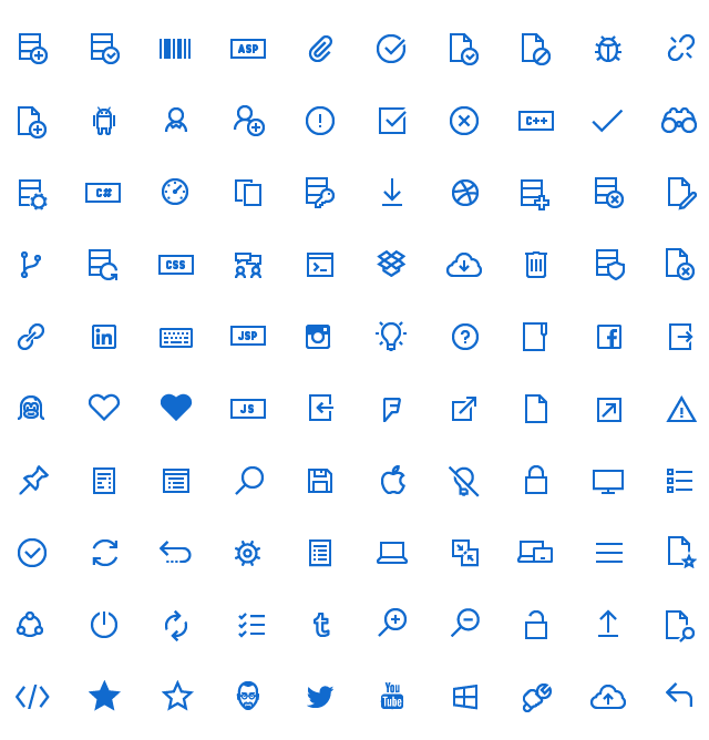 Windows 10 Icons preview