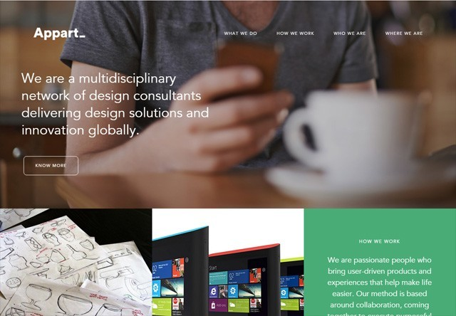 Design agency: Appart