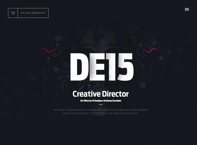 One-page website: Design Embraced