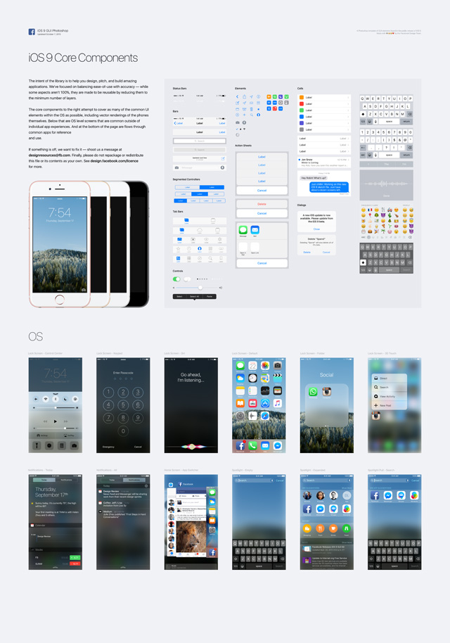 iOS 9 GUI (iPhone)