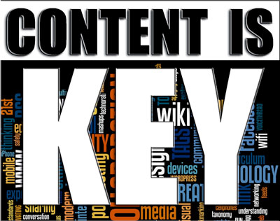 Content is key for every website