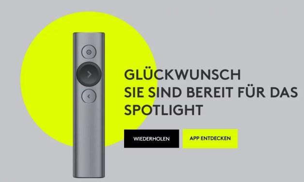 Im Spotlight [Logitech Spotlight (5 von 5)]