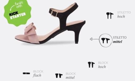 Mein erstes Mal… [Kickstarterkampagne für clevere Schuhe]