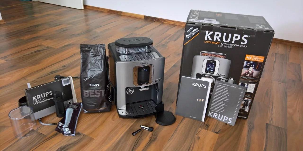 Frisch gebrüht [Kaffeevollautomat Krups EA860E (4 von 5)]