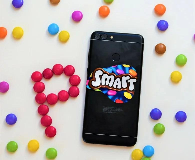 Smartphone mit Smarties [Huawei P Smart ( 5 von 5)]