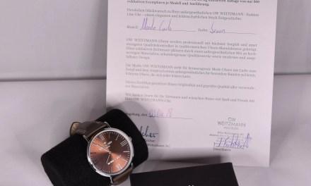 Elegante + Rustikale Uhr von Weitzmann zu gewinnen