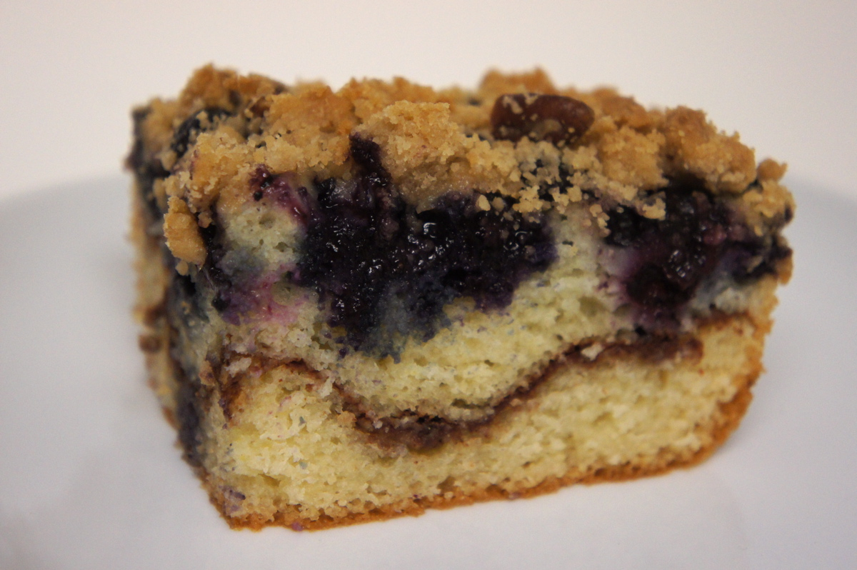 Recipe Review Old Fashioned Blueberry Coffee Cake