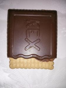 DeBeukelaer KEX – Der Schoko-Butterkeks Vollmilch - einzeln