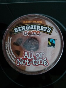 Ben and Jerryss All or Nut-ting - Deckel