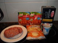 Knorr Cannelloni - Zutaten