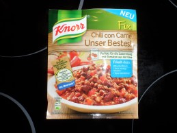 Knorr Chili con Carne Unser Bestes!