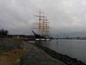Die Passat im Hafen Travemünde