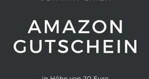 GEWINNT EINEN 20 € AMAZON GUTSCHEIN