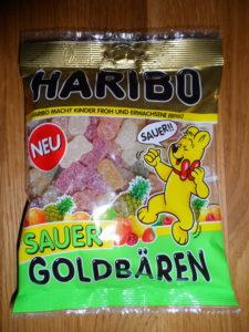 HARIBO Goldbären sauer