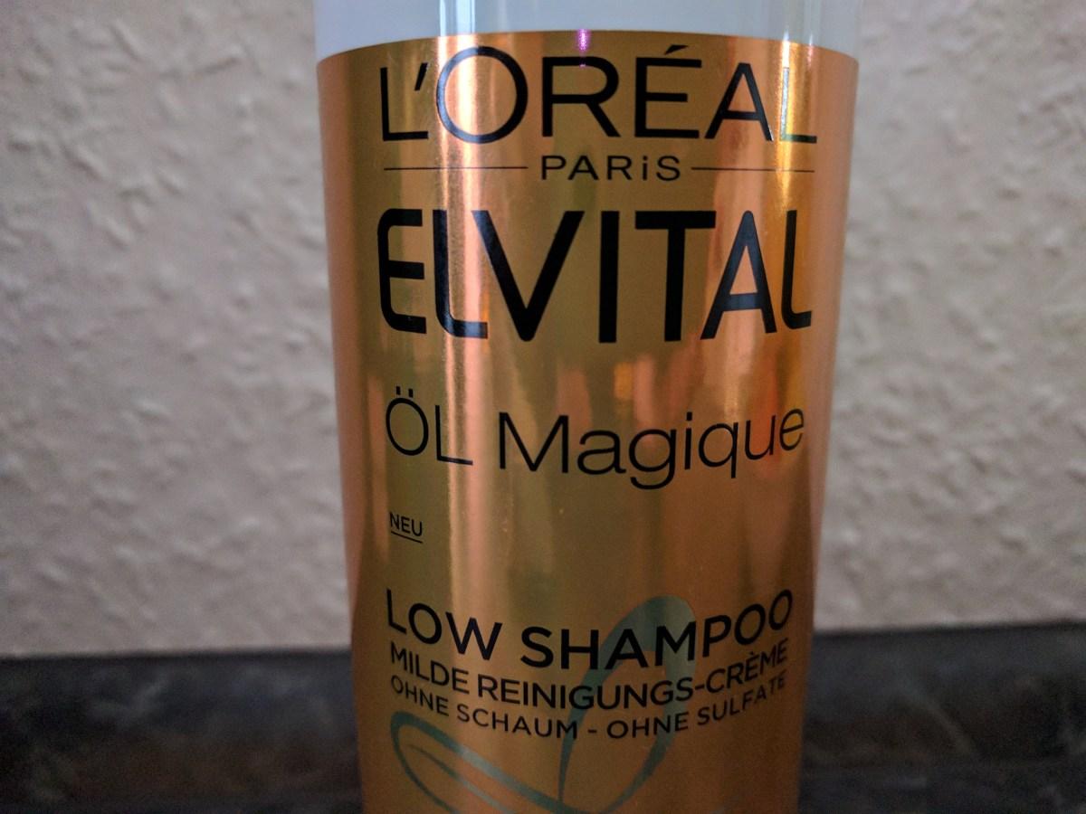 L'ORÉAL PARiS ELVITAL Low Shampoo Öl Magique