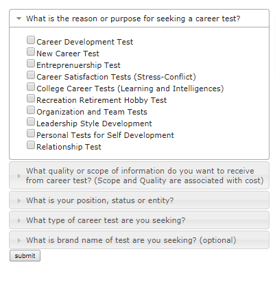 Find The Right Test Quickly And Easily U2013 Click The Link To Take The Quiz!  Career Tests