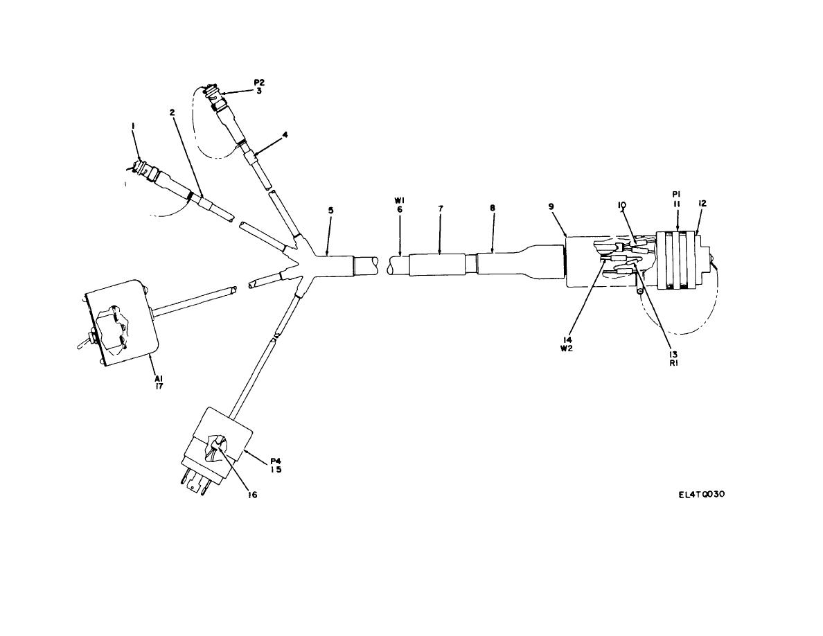 Figure 30 Cable Assembly Special Purpose Electrical
