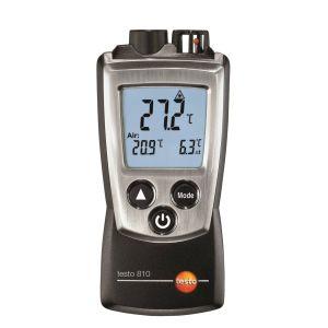 Testo 810 infraraudonųjų ir aplinkos termometras