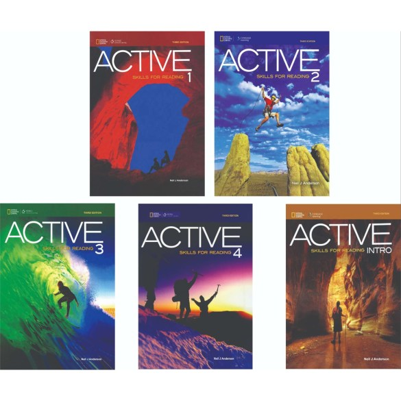 Active Skill for Reading Series 1 - 4