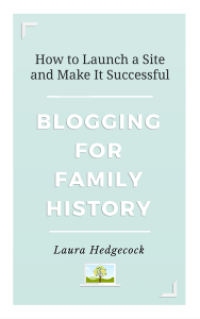 Books include blogging for family history