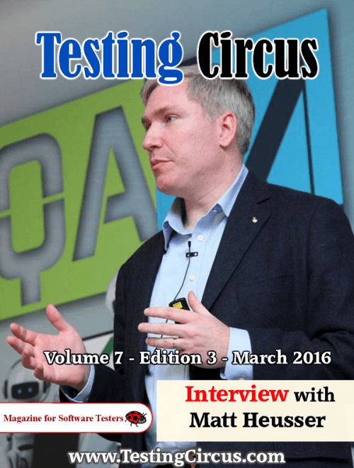 Testing Circus March 2016 Edition