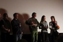Die Festivalveranstalter mit dem Regisseur Stephan Grosse-Grollmann © Doreen Matthei