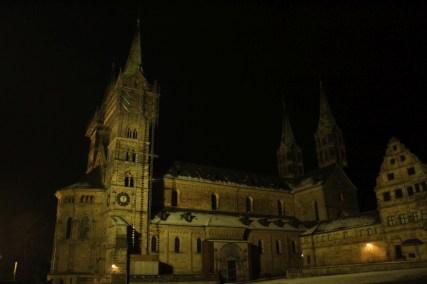 Der Bamberger Dom bei Nacht © Doreen Matthei