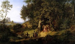 800px-ludwig_richter_-_bridal_procession_in_a_spring_landscape_-_wga19454