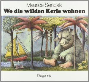 """Cover des Buches """"Wo die wilden Kerle wohnen!"""