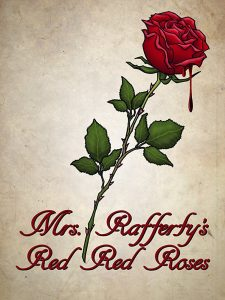 "Poster zum Kurzfilm ""Mrs. Rafferty's Red Red Roses"""