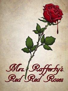 """Poster zum Kurzfilm """"Mrs. Rafferty's Red Red Roses"""""""