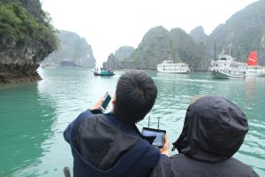 "Making Of des Dokumentarfilms ""Farewell Halong"""