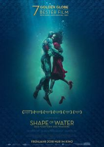 "Poster zum Film ""The Shape of Water"""