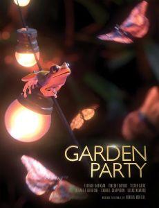 "Poster des Kurzfilms ""Garden Party"""