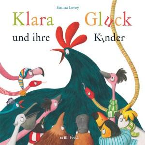 """Cover des Kindebruches """"Klara Gluck und ihre Kinder"""""""
