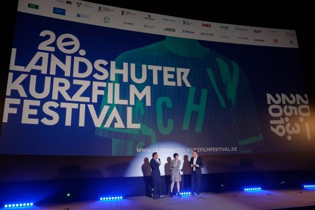 Eröffnungsveranstaltung mit den Kinobetreibern Michael Wohlgemuth und Christiane Vogel