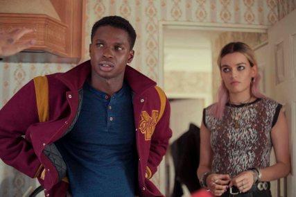 Kedar Williams-Stirling und Emma Mackey © Netflix
