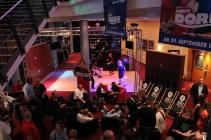 Das Tanzbein wird am Freitagabend auf dem Cinestrange-Parkett geschwungen