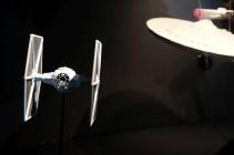 """""""Star Wars"""" und """"Star Trek""""-Modelle © Michael Kaltenecker"""