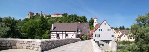 Panorama auf der Steinernen Brücke