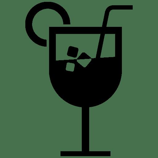výběr nealkoholických a alkoholických nápojů