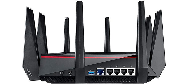 Asus Rt-ac5300 Routeur Wi-fi Gaming Ac 5300 Mbps Triple Bande Mu-mimo