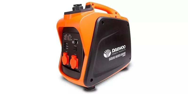 Daewoo gida2000si - generador de inversor de gasolina de 99 cc, 2000 W, 240 V