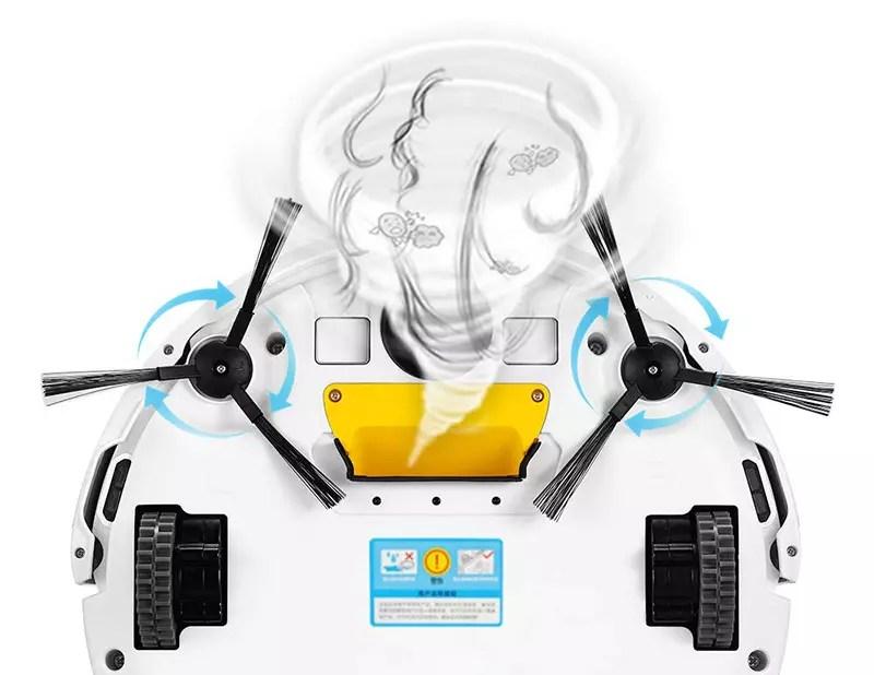 ILIFE V3s Pro Aspirateur Robot - Nettoyage Automatique avec La Télécommande, - Copy