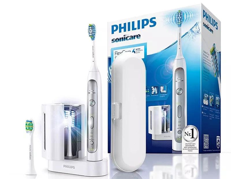 Cepillo de dientes eléctrico Philips Sonicare FlexCare Platinum hx9172-15 con tecnología Sonic