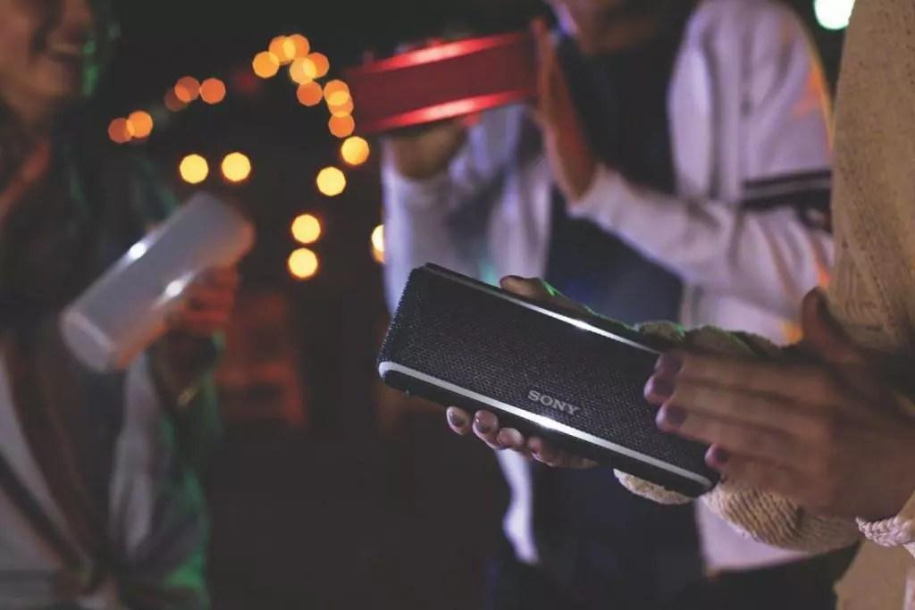 Top 10 des Meilleures Enceintes Bluetooth Étanches - Sony SRS-XB31