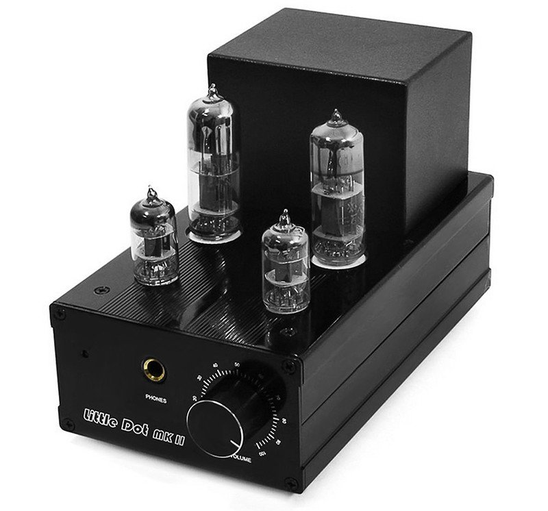 Little Dot MK2 MKII 6J1 X2 6N6 X2 amplificateur de casque pré-amplificateur Amp Tube