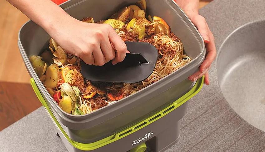 Skaza - mind your eco Bokashi Poubelle Organico de compostage pour déchets de Cuisine